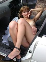 Порно раздела «В машине»